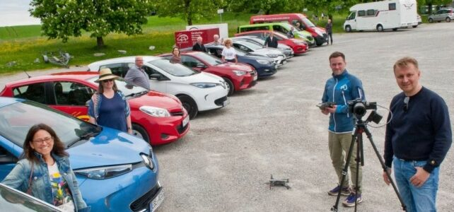 SZ: Bundesministerium dreht Film über Ebersberger Autoteiler